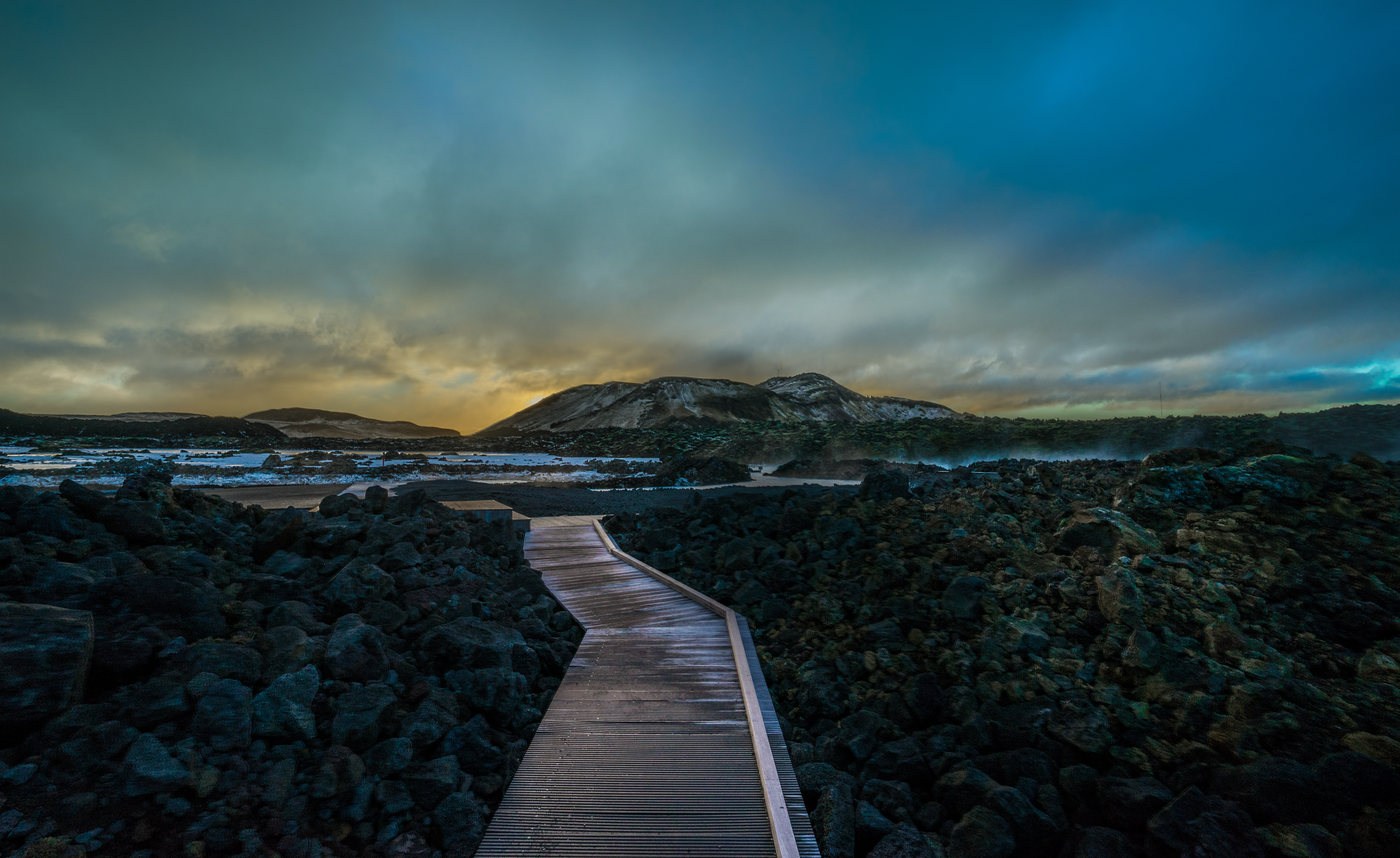 Blue Lagoon Boardwalk (1 of 1)