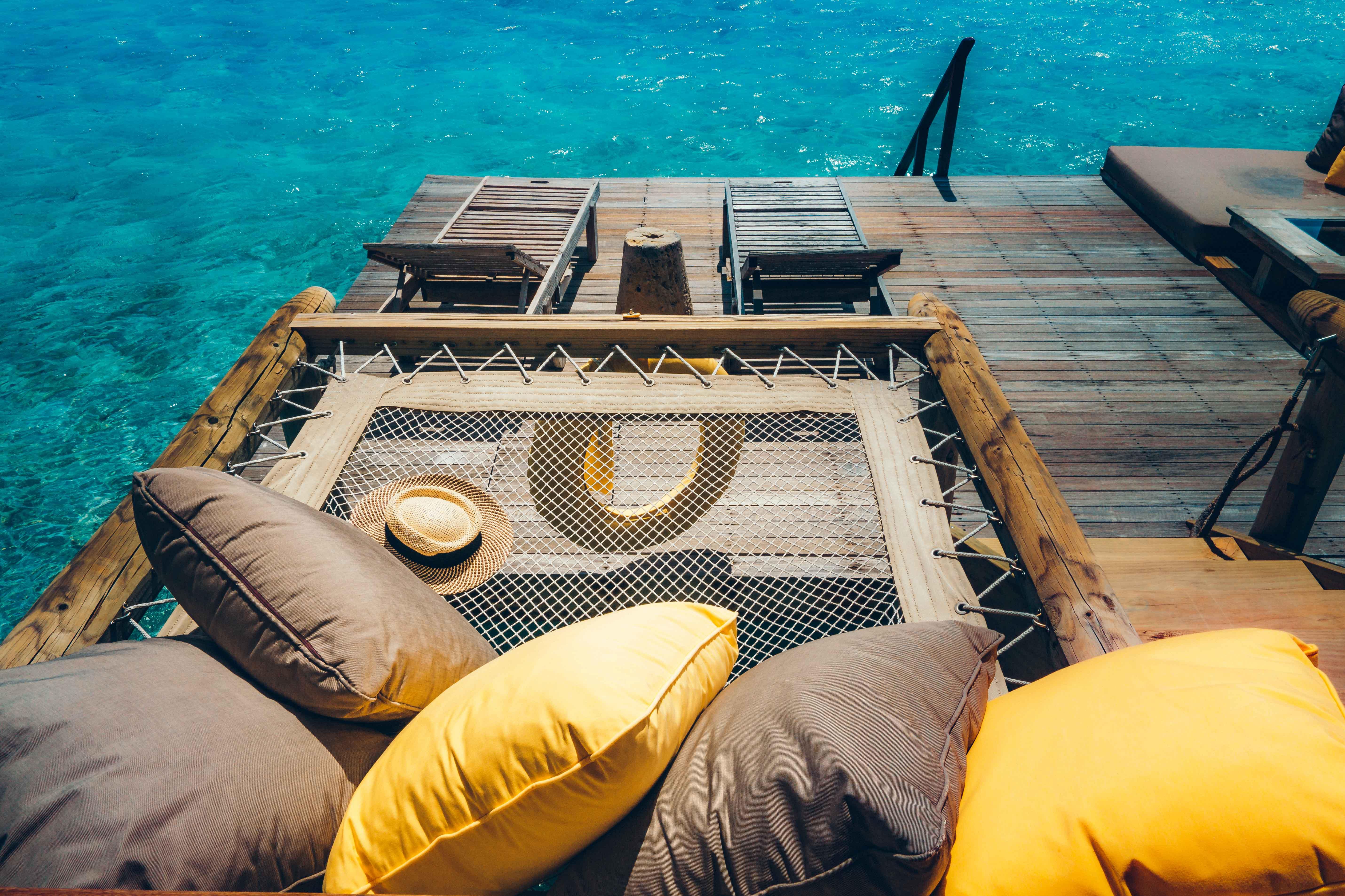 Gili Villa sun deck