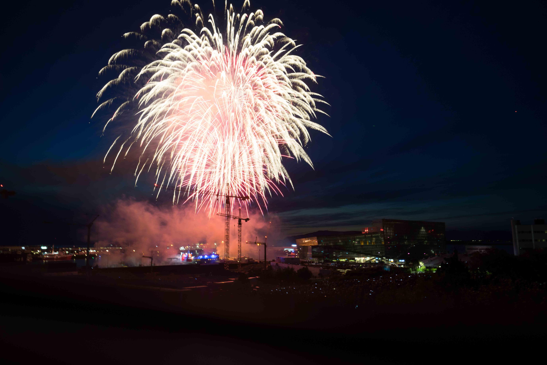 Reykjavik City Fireworks